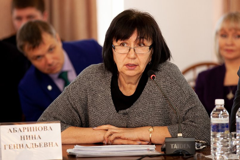 Нина Абаринова