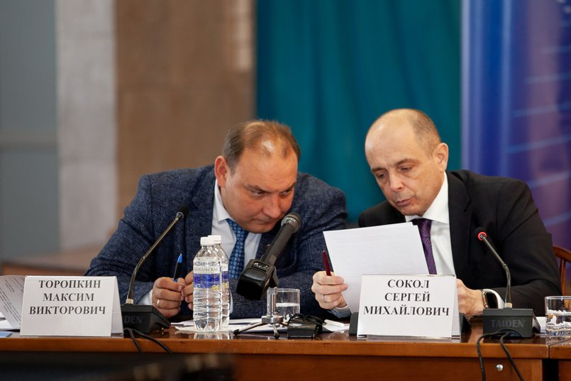 Максим Торопкин и Сергей Сокол