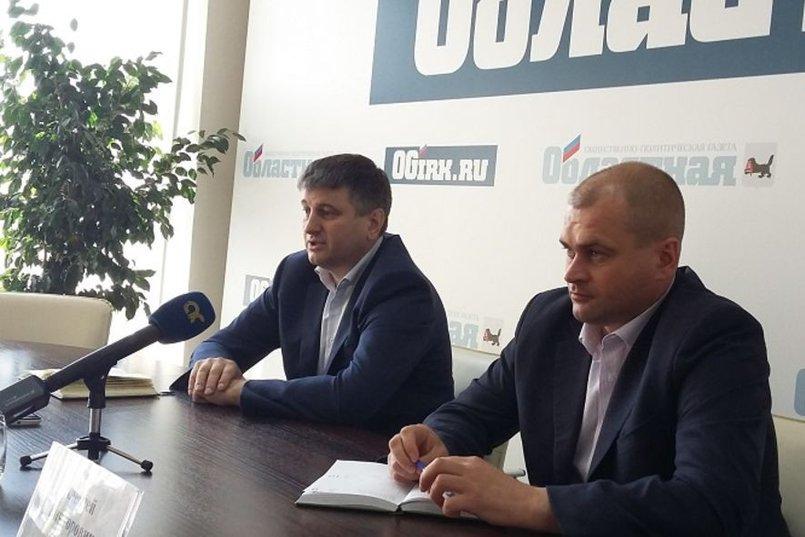 Сергей Шеверда и Алексей Туги. Фото пресс-службы правительства Иркутской области