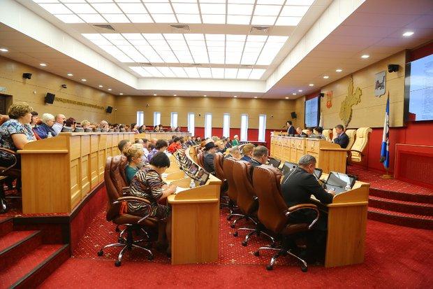 Заксобрание второго созыва. Фото пресс-службы Законодательного собрания Иркутской области