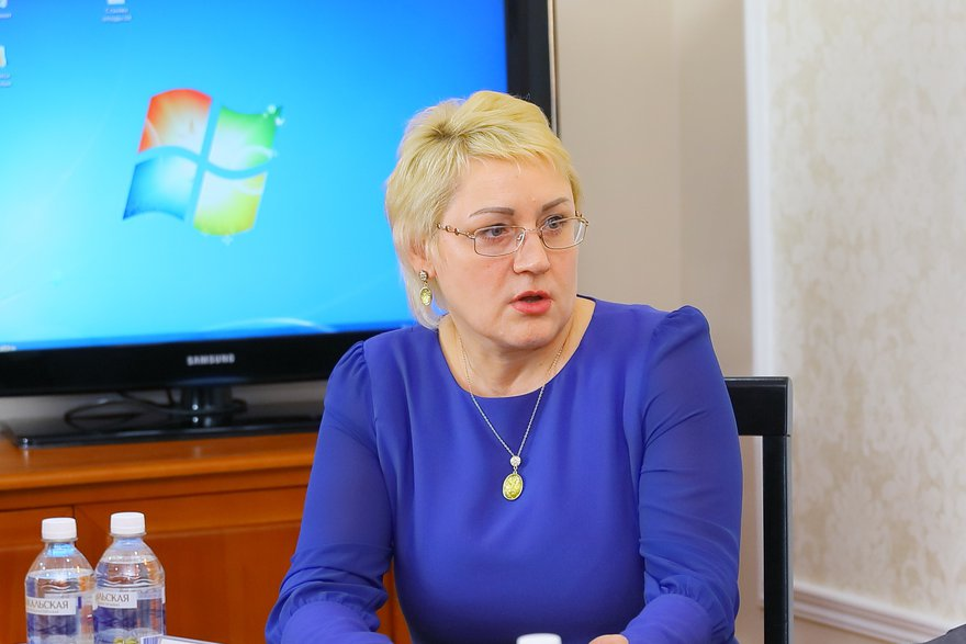 Представитель ТД «Вернисаж» Инна Матвеева
