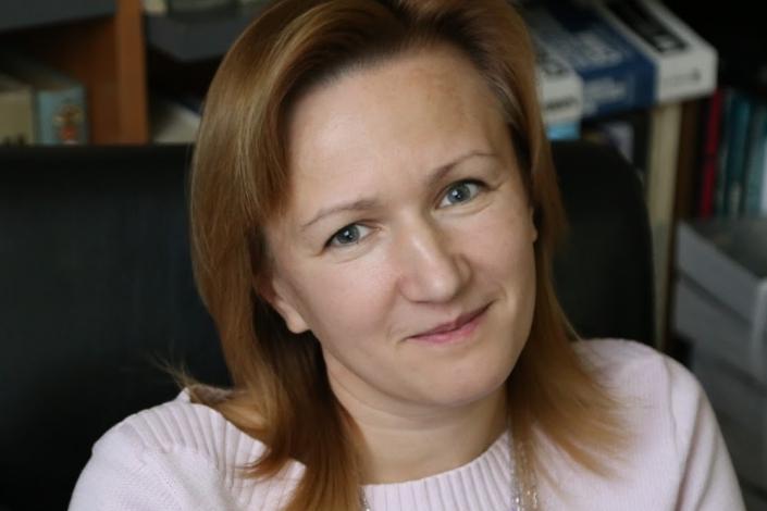 Елена Арутюнова. Фото предоставлено организаторами лекции