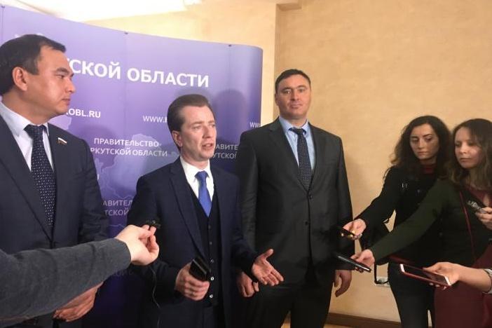 Сергей Тен, Владимир Бурматов и Руслан Болотов. Фото IRK.ru