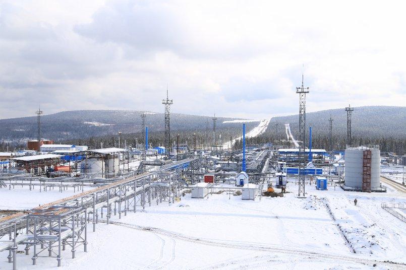 Ковыктинское месторождение. Фото www.gazprom.ru