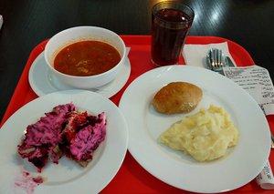 Ева Гриль удивлялась разнообразию обедов в Иркутске.
