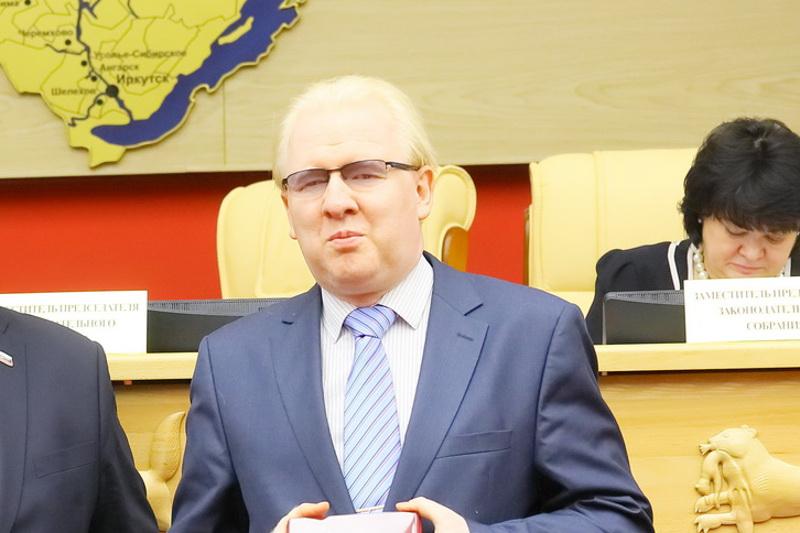 Алексей Петров. Фото пресс-службы ЗС Иркутской области