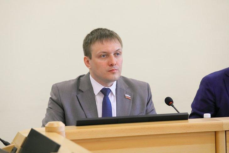 Артем Лобков, депутат Заксобрания. Фото предоставлено пресс-службой