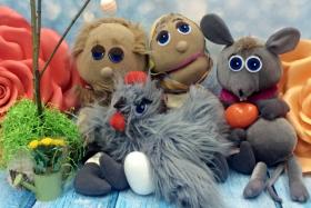 Интерактивный кукольный спектакль «Курочка Ряба»
