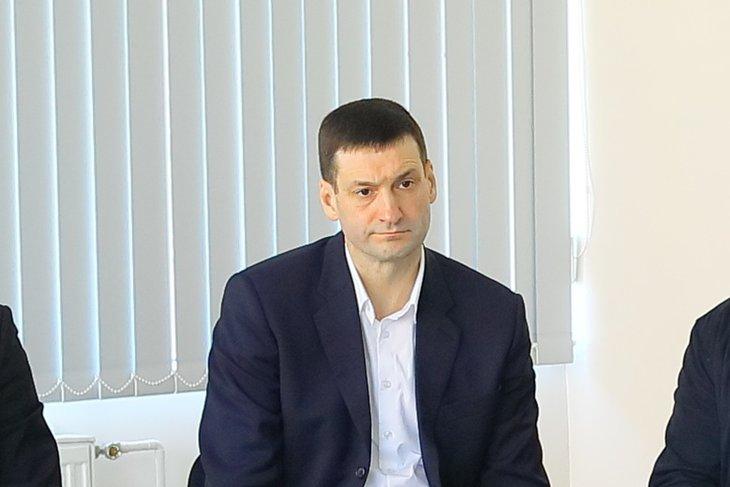 Константин Зайцев. Фото пресс-службы Заксобрания Иркутской области