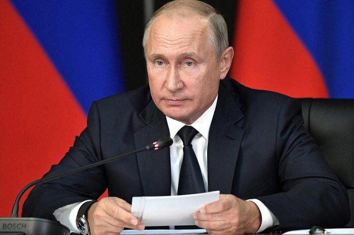 Владимир Путин. Фото с сайта riafan.ru