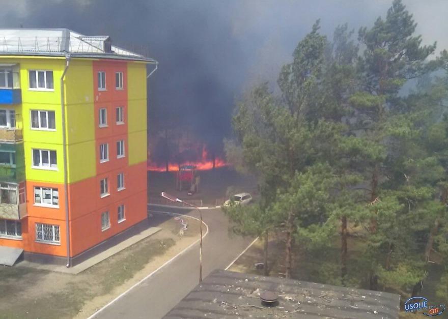 Сгорел дачный поселок под Усольем. Фото usolie-citi.ru
