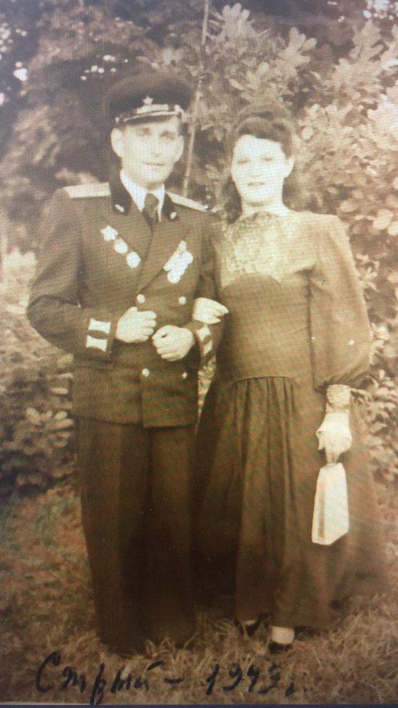 Михаил и Роза Каплан (Сигал)