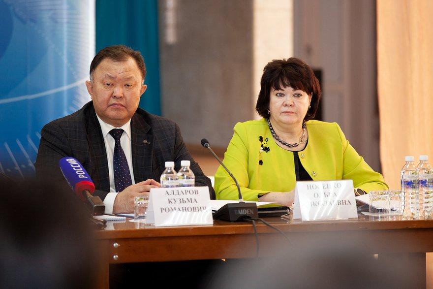 Кузьма Алдаров и Ольга Носенко