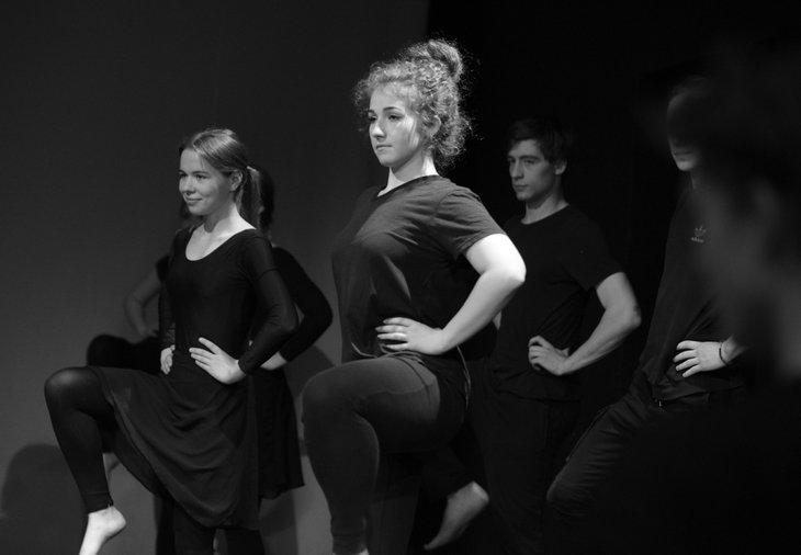 Студенты Театрального училища. Автор фото — Марина Свинина