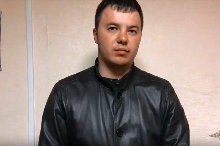 Подозреваемый. Скриншот видео пресс-службы ГУ МВД России по Иркутской области