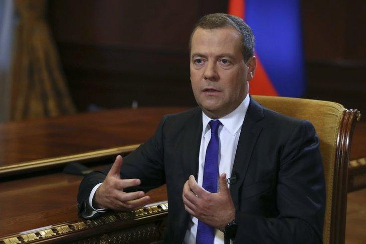 Дмитрий Медведев. Фото с сайта utro.ru