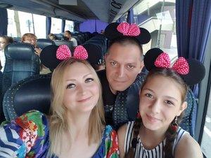 Счастье по пути в DisneyLand