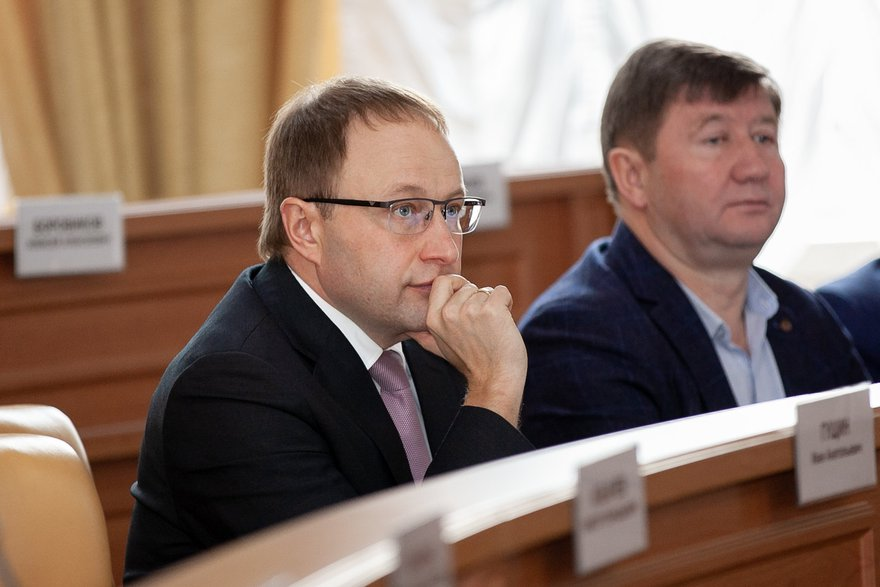Алексей Распутин и Юрий Коренев