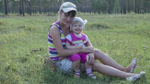 Счастлива доча, счастлива мама