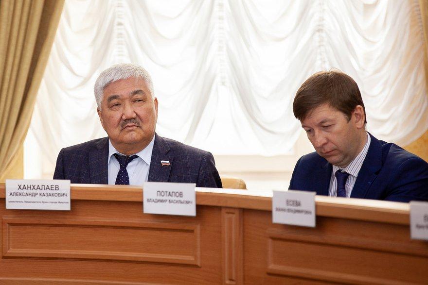Александр Ханхалаев и Владимир Потапов