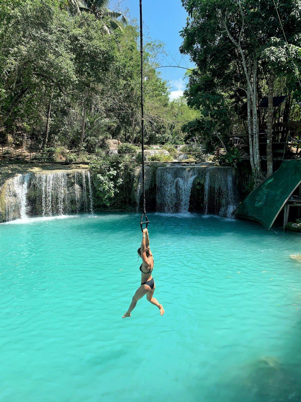 Остров Сикихор. Cambugahay Falls