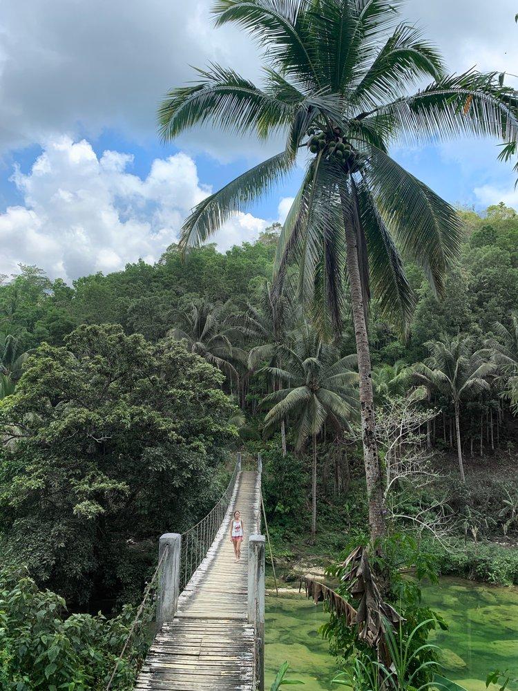 Бохоль, Pangas falls