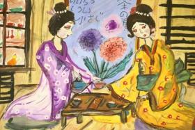 Выставка детского рисунка «Фантазии о чае»