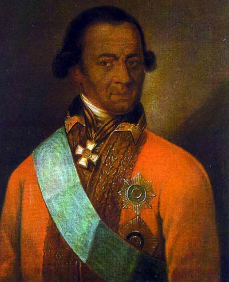 Портрет, атрибутированный как изображение А. П. Ганнибала
