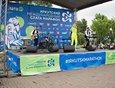 На сцене выступила иркутская кавер-группа «Меланж».