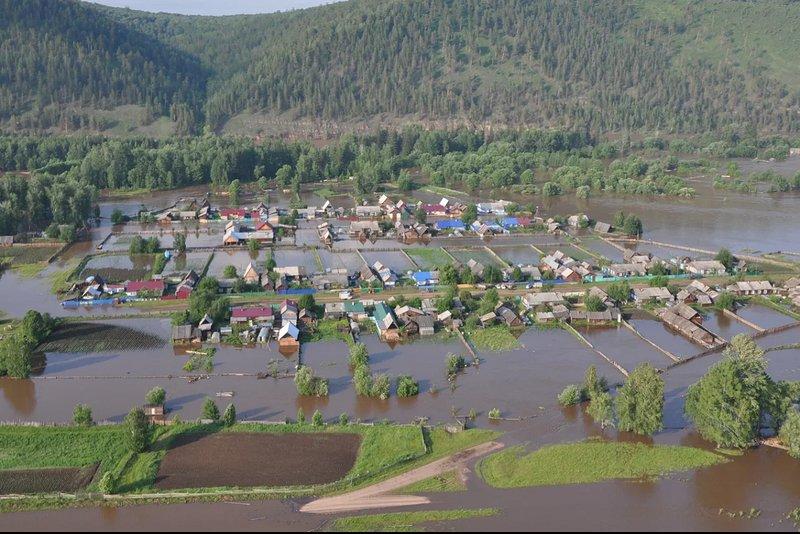 В РФ  целая область уходит под воду: размещены  ужасающие  фото ивидео