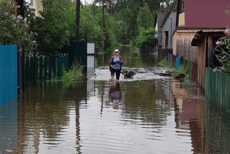 Тайшетский район. Фото пресс-службы ГУ МЧС России по Иркутской области