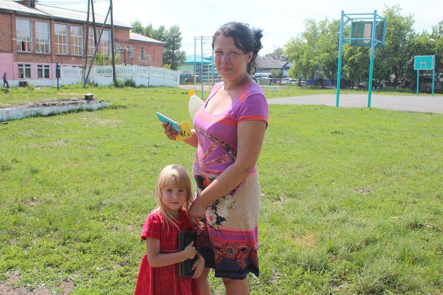 Алена с дочкой Лерой