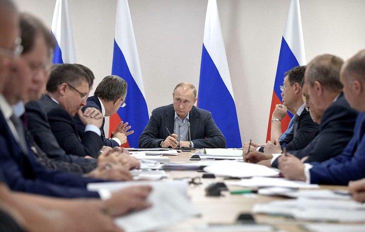 Алексей Никольский/пресс-служба президента РФ/ТАСС