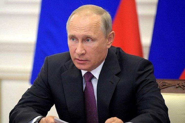 Владимир Путин. Фото с сайта kubnews.ru