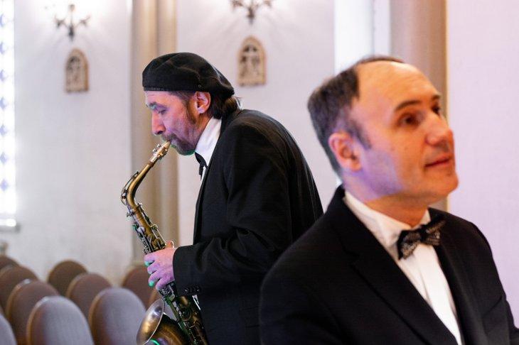 Андрей Гедеон и Дечебал Григоруцэ. Фото из личного архива музыкантов