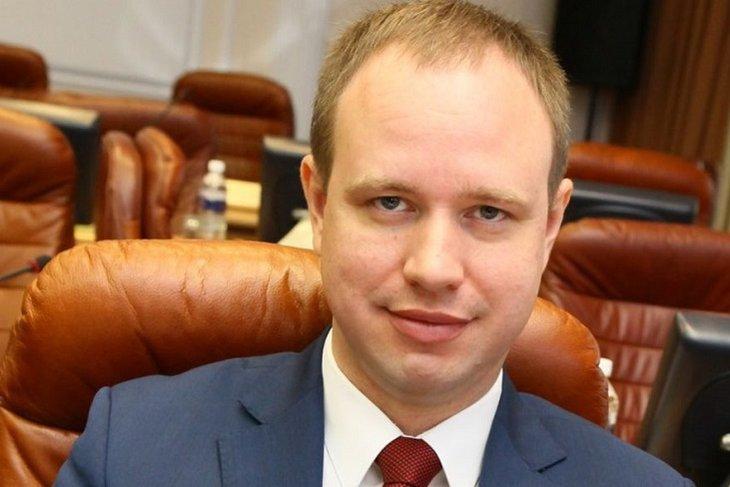 Депутат Заксобрания Андрей Левченко. Фото из архива IRK.ru