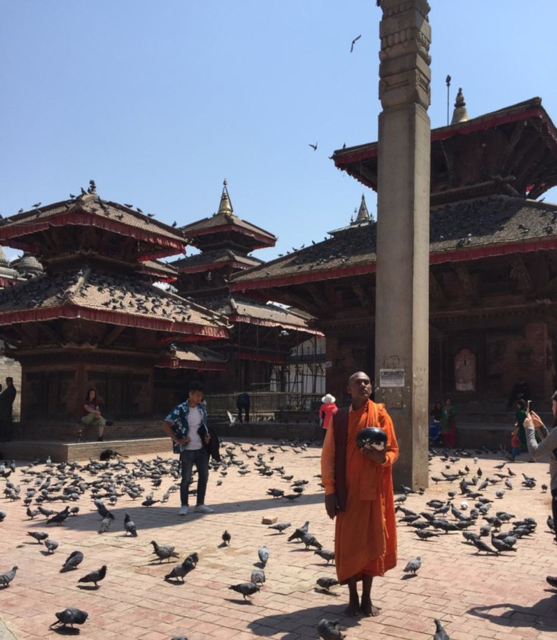 Площадь Катманду