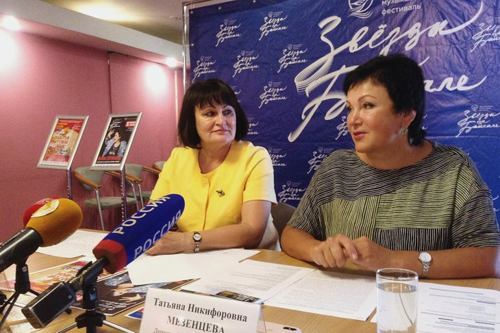 Ольга Стасюлевич и Татьяна Мезенцева. Автор фото — Маргарита Романова