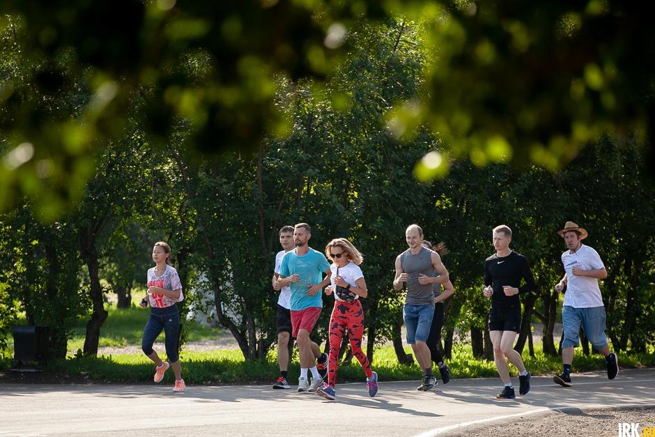Пробежка — разминка перед тренировкой.