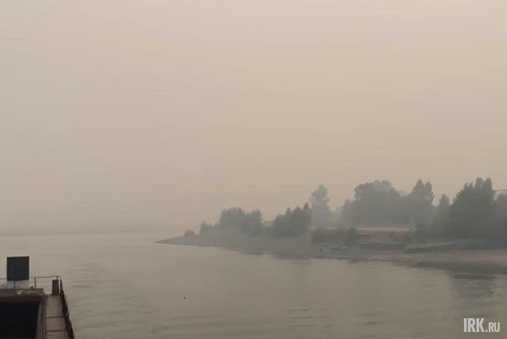 Киренск. Скриншот видео