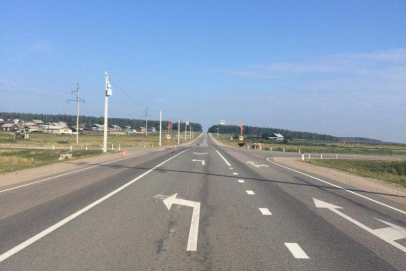 ДТП в в районе поселка Кутулик