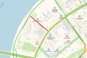Переулок Бурлова. Скрин «Яндекс.Карты»