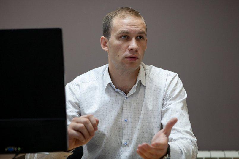 Менеджер отдела реализации проектов Дмитрий Рубцов