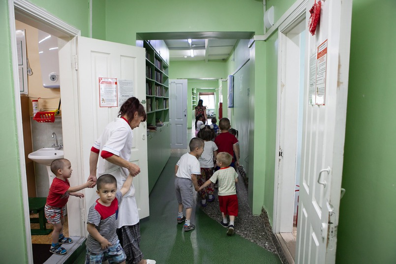 Детский сад для детей, которых не берут в муниципальный детсад