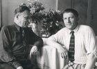 Николай Буторин - слева. Фото клуба молодых ученых «Альянс»