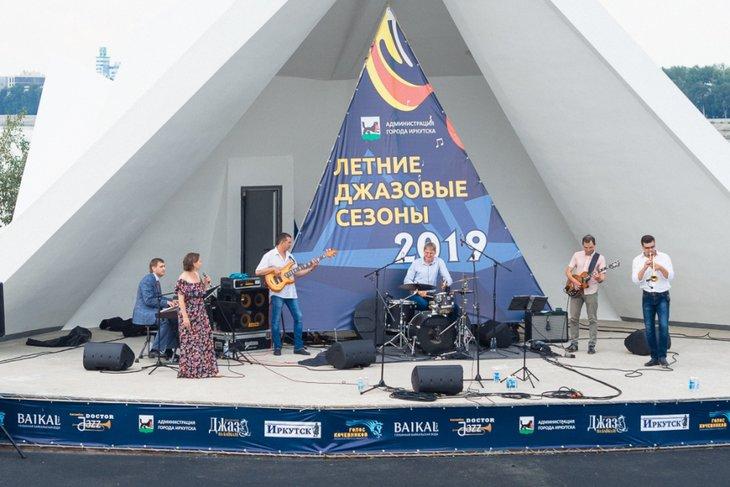 Джазовый концерт на острове Юность. Автор фото — Евгений Денисов