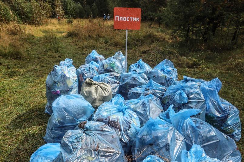 Мы не просто собирали мусор, его еще нужно было сортировать.
