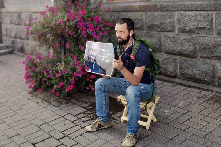 Алексей Желудков. Фото Алины Вовчек