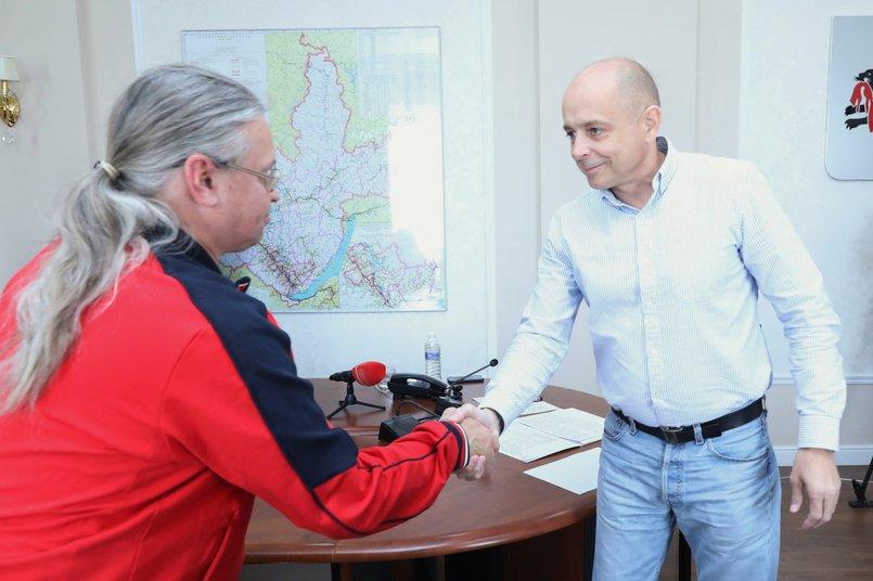 Андрей Несмеянов и Сергей Сокол