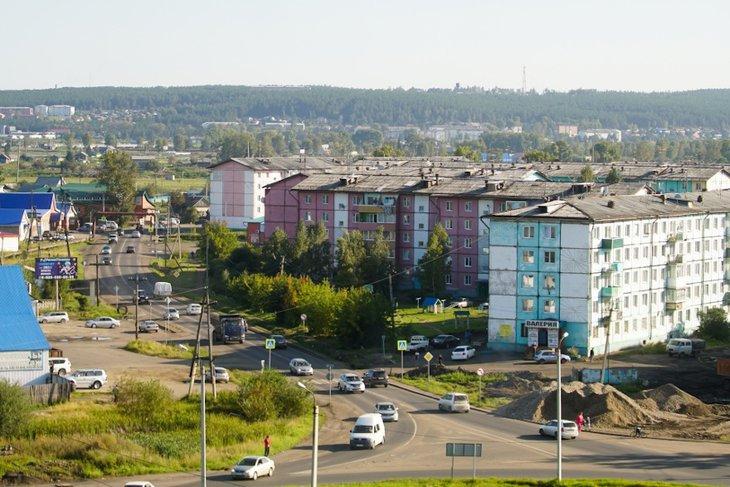 В Тулуне. Фото пресс-службы правительства Иркутской области